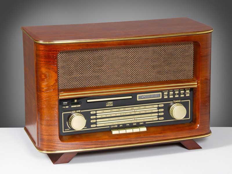 Radio imitacion antiguo  Blog de artesania y decoracion