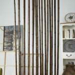 Biombo Separador Cañas Bambu