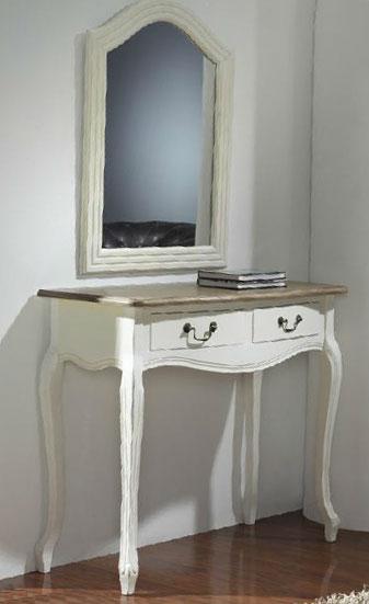 Consola recibidor bicolor blanca blog de artesania y for Comoda recibidor