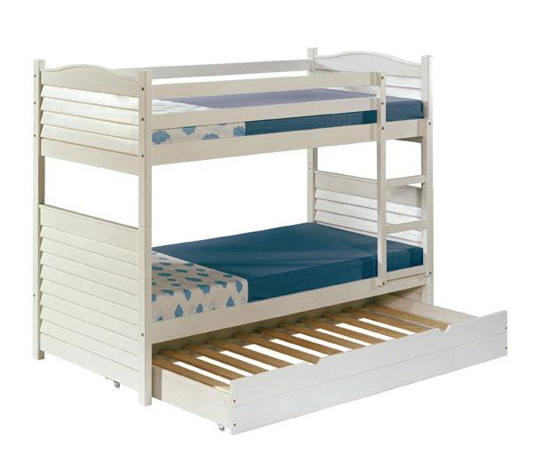 Cama litera dakota con cajon blog de artesania y decoracion - Literas nido 3 camas ...