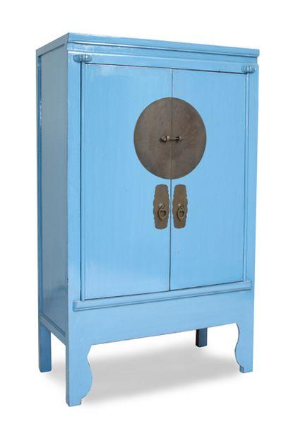 Artesanato Hipie ~ Armario Oriental Azul Base Blog de artesania y decoracion