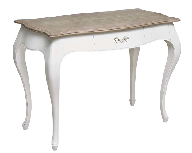 Mesa escritorio blanca tapa roble siun blog de artesania - Mesa de escritorio blanca ...