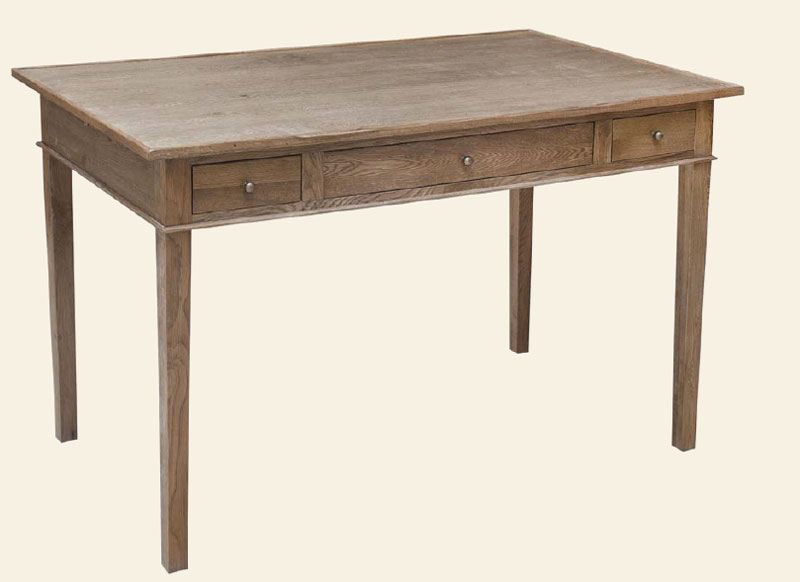 Mesa escritorio despacho roble rober blog de artesania y for Escritorio despacho