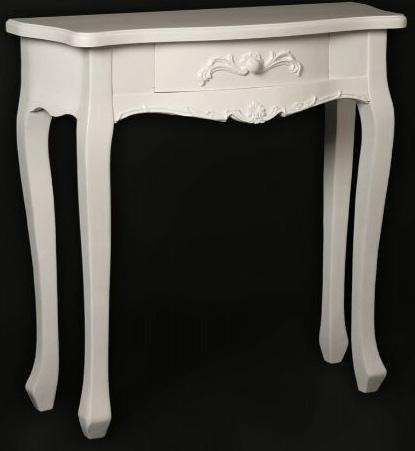 Mueble Recibidor Pequeño Blanco Lasar | Blog de artesania y decoracion
