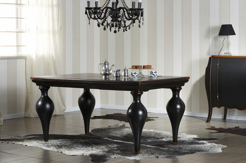 Muebles Alta Gama : Mesa comedor balthus extensible de artesania y