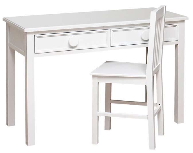 Mesa escritorio pintada blanca grimm blog de artesania y - Mesa de escritorio blanca ...