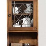 Armario colgador, estanteria de colgar, mueble auxiliar rustico
