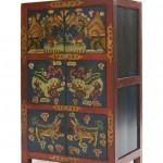 Armario despensa, armario chino, armario pintado, armario oriental