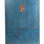 armario azul oriental, armario 2 puertas chino, amario chino, armario boda chino