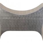 Cabecero Repujado Cama de 150 Silver III