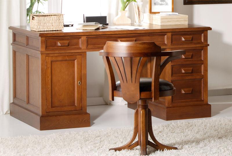 Escritorio antique sue o blog de artesania y decoracion - Escritorios rusticos de madera ...