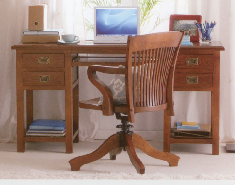 Escritorios coloniales amazing muebles estilo colonial for Muebles tipo colonial