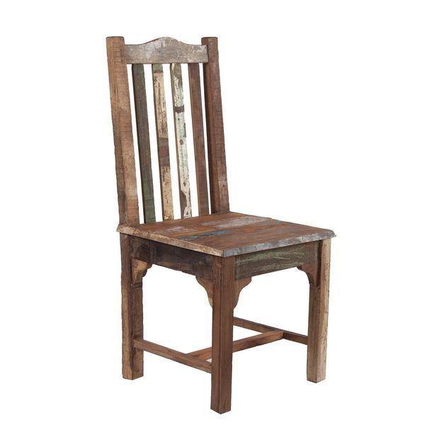 Silla barrotes asiento madera reciclada jodhpur blog de for Bar con madera reciclada