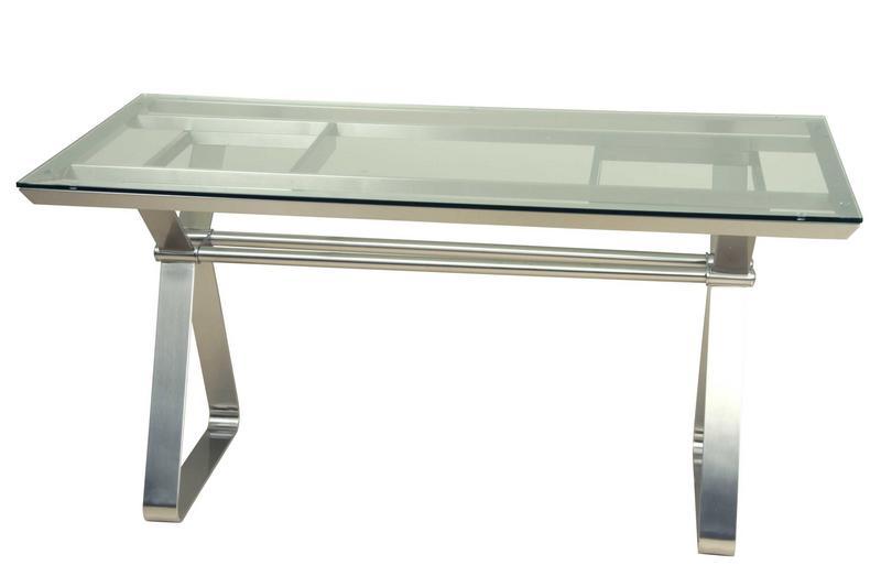Mesa aluminio cristal rest blog de artesania y decoracion for Mesas de cristal y acero