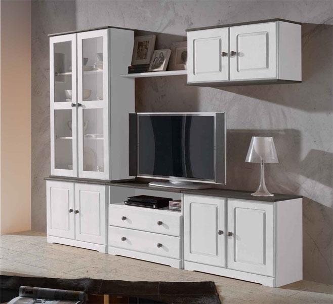 Modular salon bicolor marina 427 blog de artesania y for Muebles modulares salon