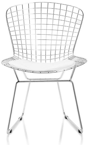 Silla rejilla metalica cojin blanco blog de artesania y - Reparacion de sillas de rejilla ...