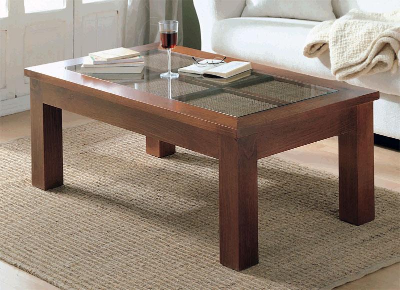 Mesa centro elevable rafia 2 tama os blog de artesania y - Centro de mesa para salon ...