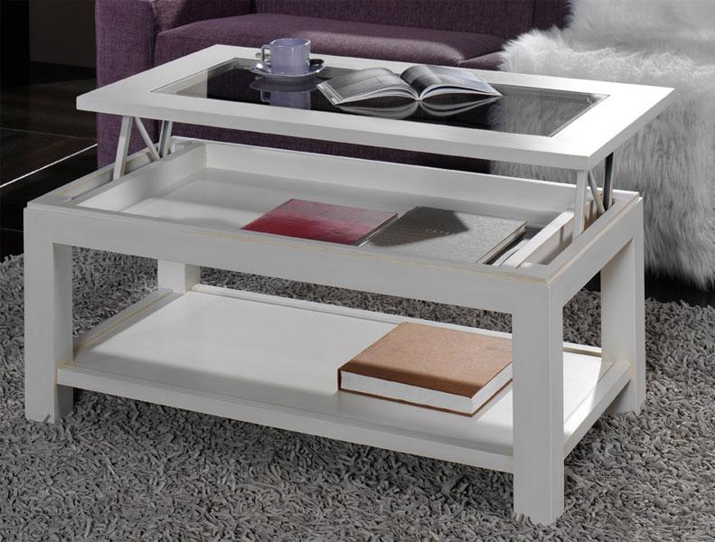 Mesa de centro elevable roble 2 tama os blog de - Mesas de centro elevables y extensibles ...