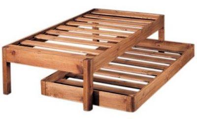 Cama nido troncos abelis blog de artesania y decoracion for Como hacer una cama nido con cajone