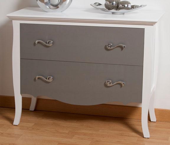 Comoda blanca y plata design blog de artesania y decoracion - Comoda blanca ...