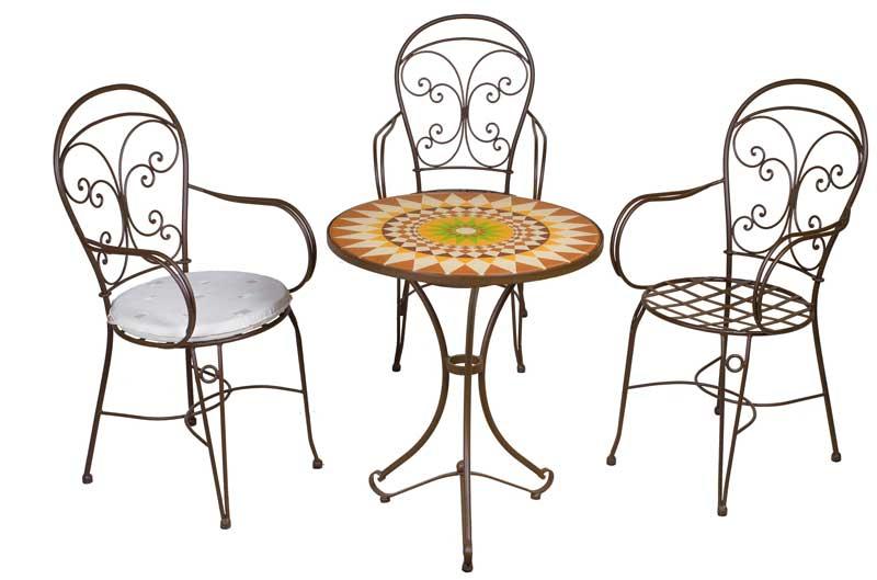 Conjunto canarias 3 sillones y 1 mesa forja blog de for Conjuntos de jardin segunda mano