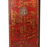 Armario Oriental Rojo Deco