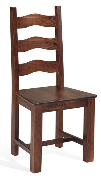 Silla imperial madera de pino blog de artesania y decoracion - Sillas de pino ...