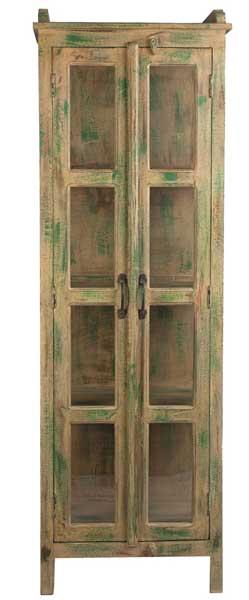 Alacena madera reciclada 2 puertas jodhpur blog de for Puertas de madera reciclada