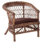 Sillon Rattan Natural Clasic