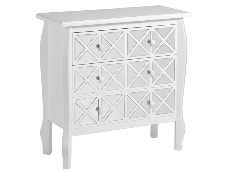 Comoda blanca espejos agreda blog de artesania y decoracion - Comoda blanca ...