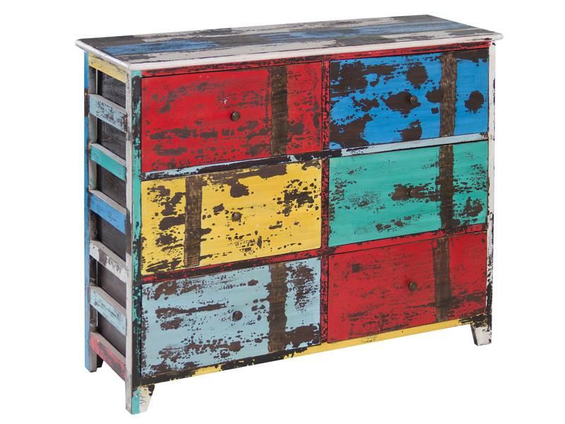 Comoda decape colores arbaud blog de artesania y decoracion - Muebles envejecidos ...