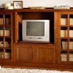 Mueble TV con Puertas