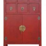 Mueble Auxiliar Rojo