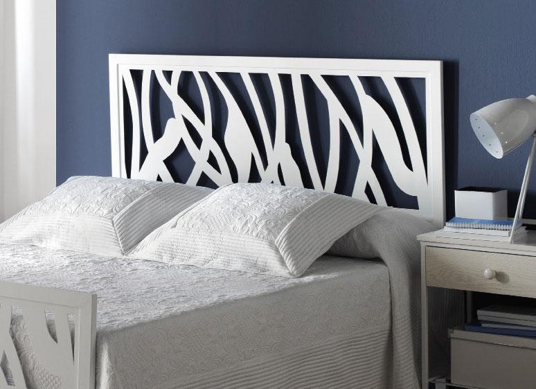 Cabecero forja gama blanca 1064 blog de artesania y - Cabeceros de cama blancos ...