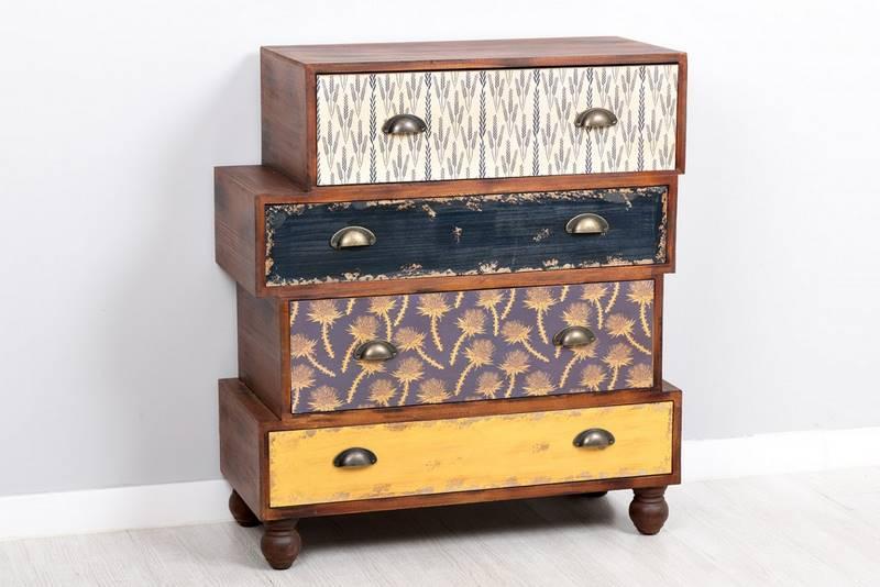Comoda 4 cajones malibu blog de artesania y decoracion for Malibu muebles