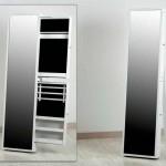 Espejo Vestidor Con Cajones para Joyero Blanco Alaro