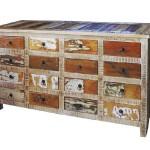 Aparador Madera Reciclada Serie Peral