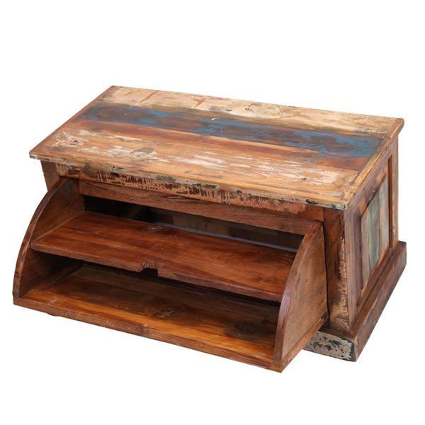 Baul zapatero madera reciclada rainbow blog de artesania for Mueble para guardar zapatos madera