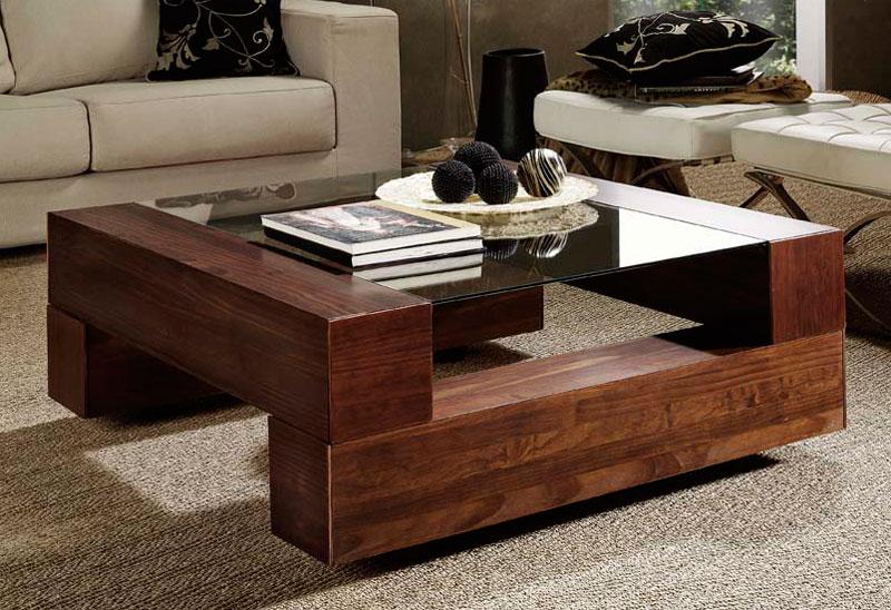 Mesa de centro 8 cajones roble abrans blog de artesania for Mesa salon elevable ikea