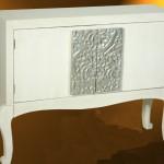 Consola 2 Puertas Crema Plata Champagne Albinot