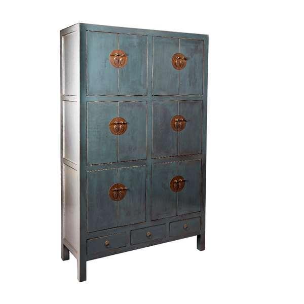Armario puertas cajones azul jade blog de artesania y - Artesania y decoracion ...