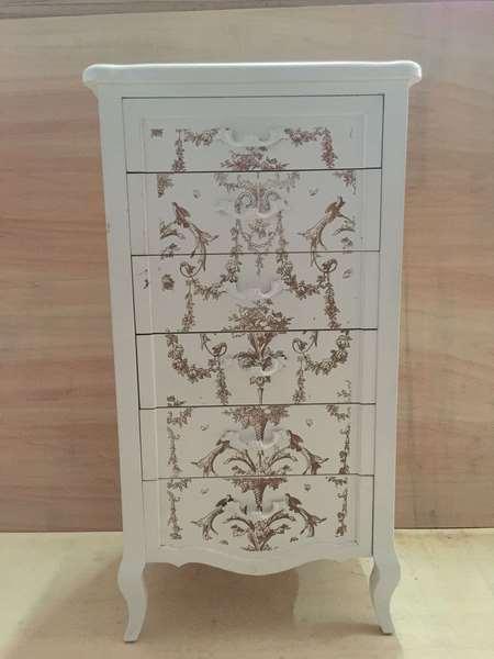 Sinffonier clasico 6 cajones aedon blog de artesania y - Artesania y decoracion ...