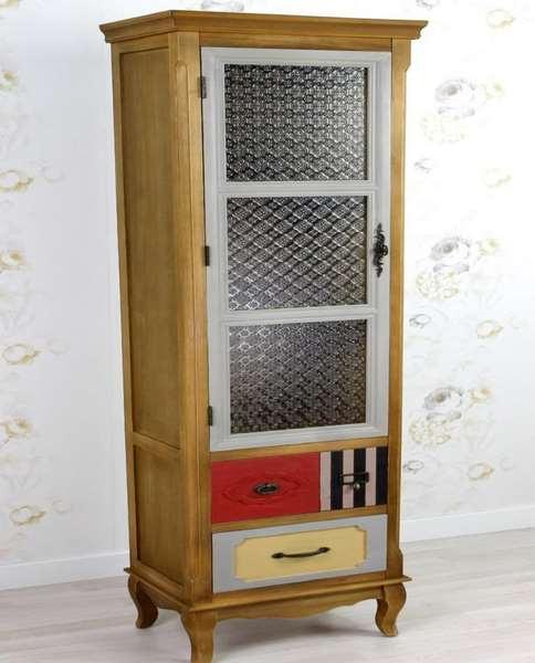 Vitrina 2 cajones colores langeron blog de artesania y - Artesania y decoracion ...