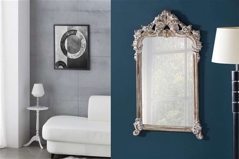 Espejo anticuario luna visel baren blog de artesania y - Artesania y decoracion ...
