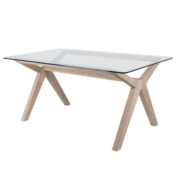 Mesa comedor cristal madera roble haix blog de artesania for Mesa comedor cristal y madera