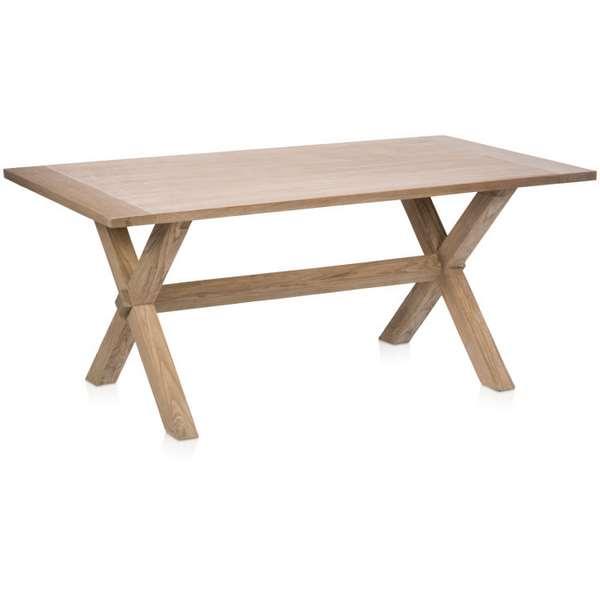 Mesa de 160 madera roble haix blog de artesania y decoracion for Mesas de comedor madera blanca