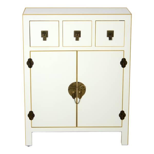 Consola 2 puertas blanca baritalla blog de artesania y - Cajonera estrecha ...