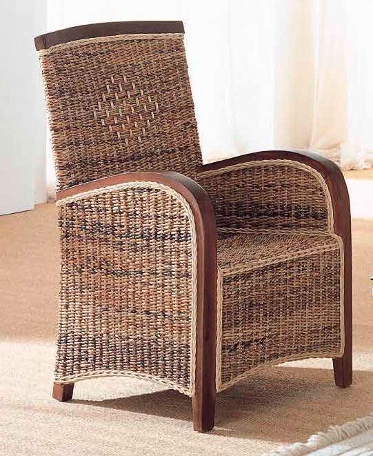 Butacon madera y abaca albange blog de artesania y - Artesania y decoracion ...