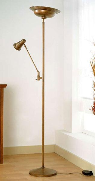 Lampara y foco estilo clasico oro viejo blog de artesania y decoracion - Lamparas estilo colonial ...