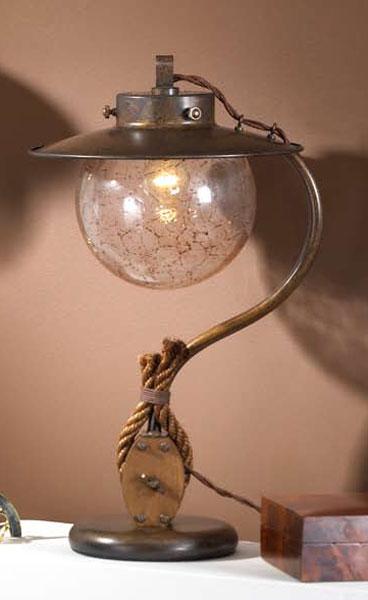 Lampara de mesa rustica colonial blog de artesania y decoracion - Lamparas estilo colonial ...